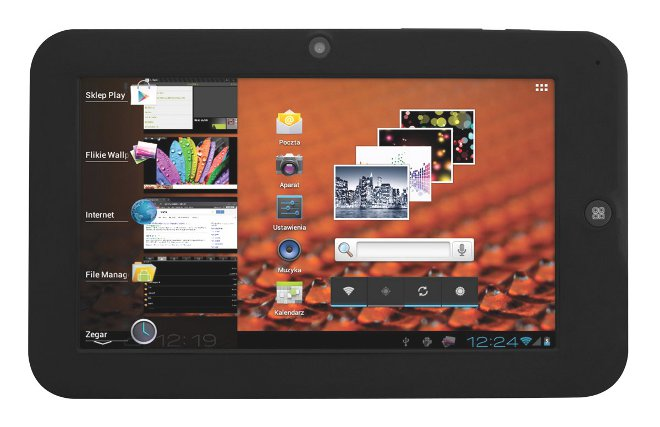 Recenzja tabletu MANTA PowerTab MID08
