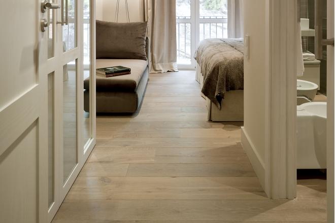 Drewniana Podłoga Deski Parkiet Czy Panele Drewniane