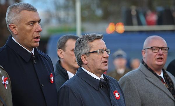 Giertych cu Komorowski, fostul președinte rusofil-PO al Poloniei post-Smolensk