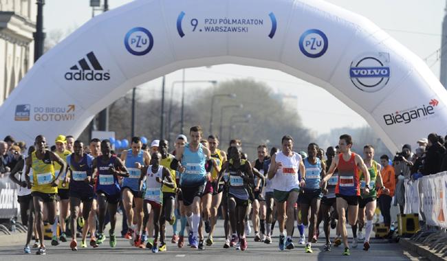 Półmaraton Warszawski 2014 - organizacja ruchu