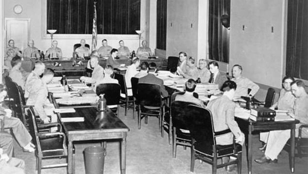 Trzeci dzień procesu niemieckich szpiegów biorących udział w operacji Pastorius, lipiec 1942 r.