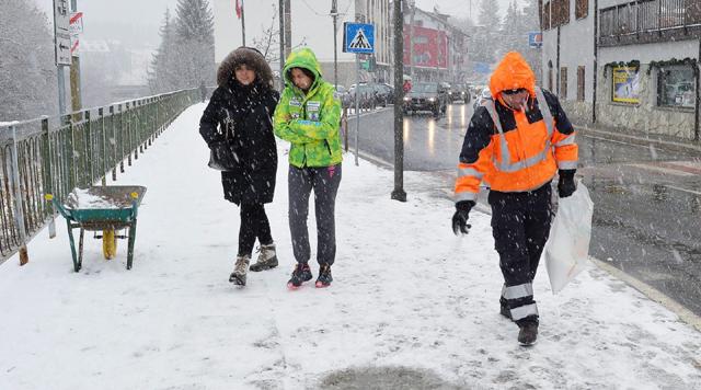 Zima przypomniała sobie o Włoszech